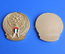 UAE Gold Falcon Car Sticker Badge for National Day Item