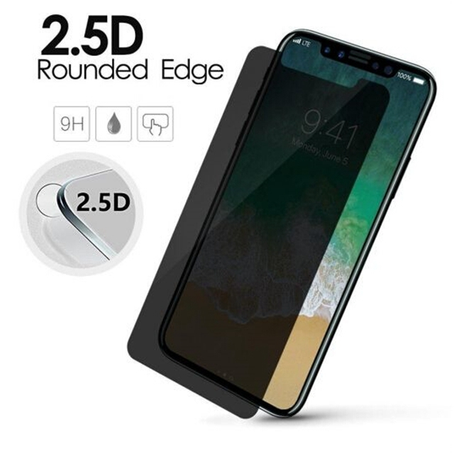 wholesale latest Privacy Anti Spy Tempered Glass screen protector for iphone x