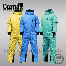New fashional winter outdoor one piece high quality snow jumpsuit