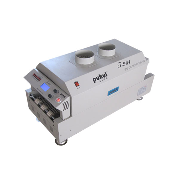 Puhui T-961 LED benchtop conveyor belt wave soldering machine for pcb <strong>welding</strong>