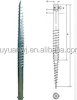 Post Anchor Screw Fence Post Spike N60/concrete screw anchor /screw anchor