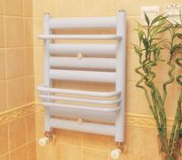Bathroom heated towel radiators,hot water towel warmer radiators, hot water bathroom radiators towel rack(Oval tube) 6+4u