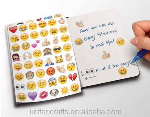 Emoji Sticker Pack 912 Die Cut Stickers for Phone Vinyl HOT TR