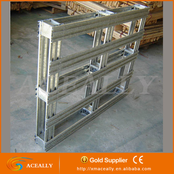 Aceally Customizable Warehouse Steel Pallet metal warehouse racks industrial racking systems corrugated cardboard pallet