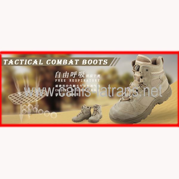 Fashionable Police combat military hunting tactical boots army sports shoes CL29-0041