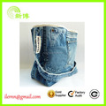 Cheap popular attractive tote jeans school bag