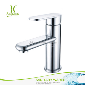 Classic Single lever chromed hot cold basin plastic water tap