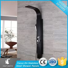 Sales Promotion Black Easy Collect Bath Appliance Shower Panel