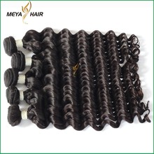 Raw virgin unprocessed 100 percent indian remy human hair attachment for braids