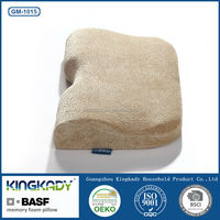 Hot selling cylinder shredded neck protecting memory pillow