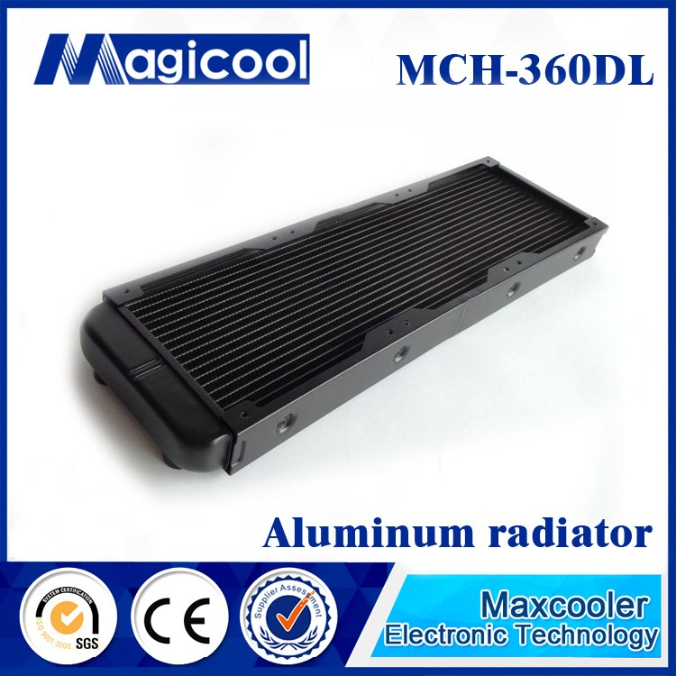 Best Quality aluminum Radiator for computer 33mm thickness 360mm length