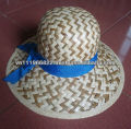 100% palm leaf straw hat