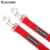 Reflective Night Visible Two Way Dog Puppy Dual Heads Coupler Leash for Two Dogs 2 in 1 Lead