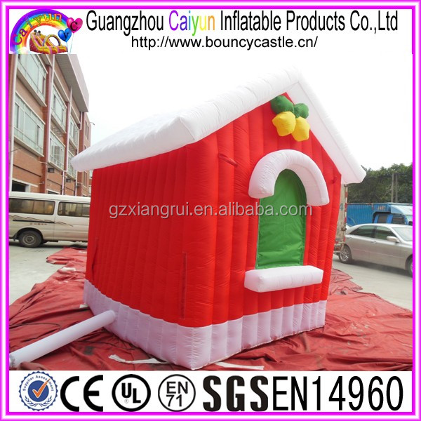 Merry Chrismas type inflatable bouncer for sale
