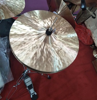 dry cymbals soft sound cymbals 100% handcraft cymbals