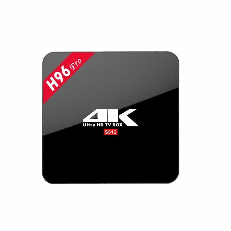 Hot Selling H96 PRO OTT Tv Box Amlogic S905 S905X S912 2G/16G Set Top Box