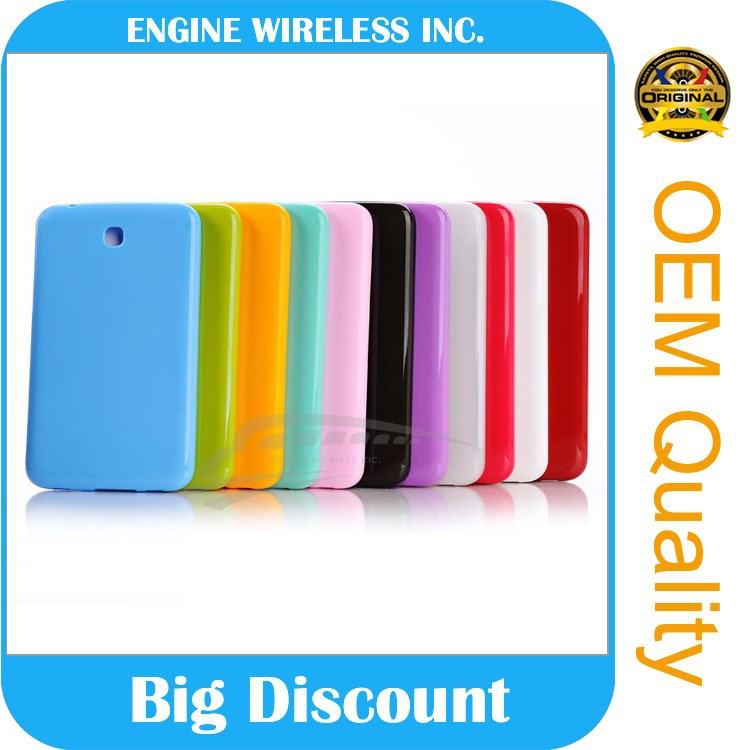 china supply rubber case for samsung galaxy tab 3 p3200