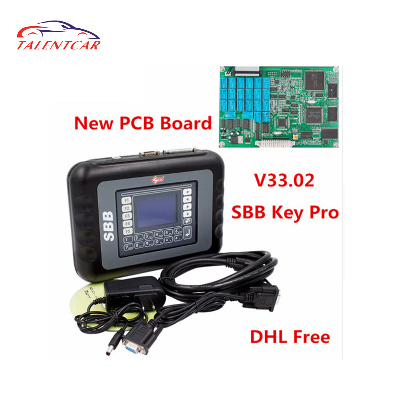 Hot selling!!! silca sbb key programmer v33 v33.02 with high quality
