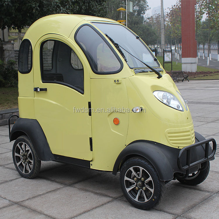 Passenger Seats Forward 60V/800W Mini Electric Car for Family