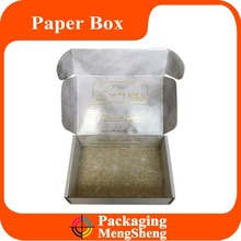 Full color custom printed corrugated cardboard packing mailing boxes/recycled brown paper box packages wholesale
