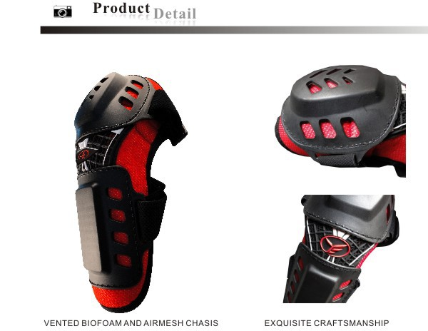 Passed EN 1621-1 MOTOCROSS sports knee and elbow brace