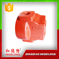 Ductile Iron Sand Casting Farm Machine Parts Iron Housing Case