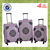 Purple Popular Cheap Factory Price Alibaba China Classic Style Leather Trolley Bags