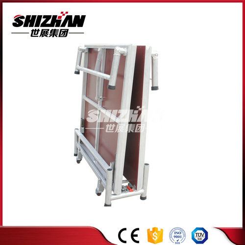 1.22x1.22m folding aluminum portable stage for sale