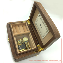 Modern Design Promotional Wooden Music Box For Wedding Gift Box