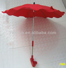 2014 Christmas kids red umbrella for baby car