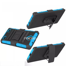 3 in 1 heavy duty belt clip holster case for ZTE Zmax 2 , hybrid armor kickstand case for ZTE Zmax 2 Z958