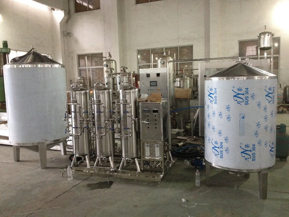 3-4T Water Treatment Equipment for Beverage Industry