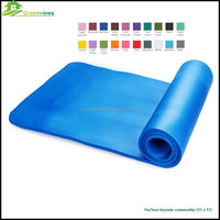 Eco friendly Manufacturer NBR PVC Yoga Mat exercise yoga sport mat yoga mat manufacturer