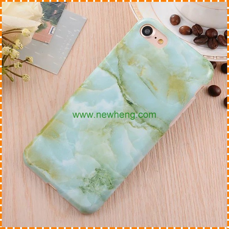 High quality marble soft tpu back cover phone case for iphone 7 7 plus