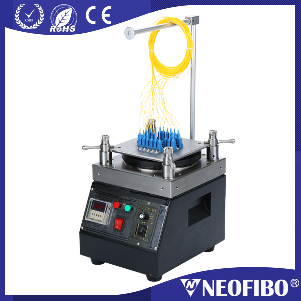 Neofibo new arrival 90 rpm full stainless steel polishing plate fiber optic four corner polishing machine