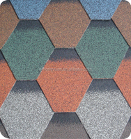 China Hongyuan Mosaic Asphalt Shingles