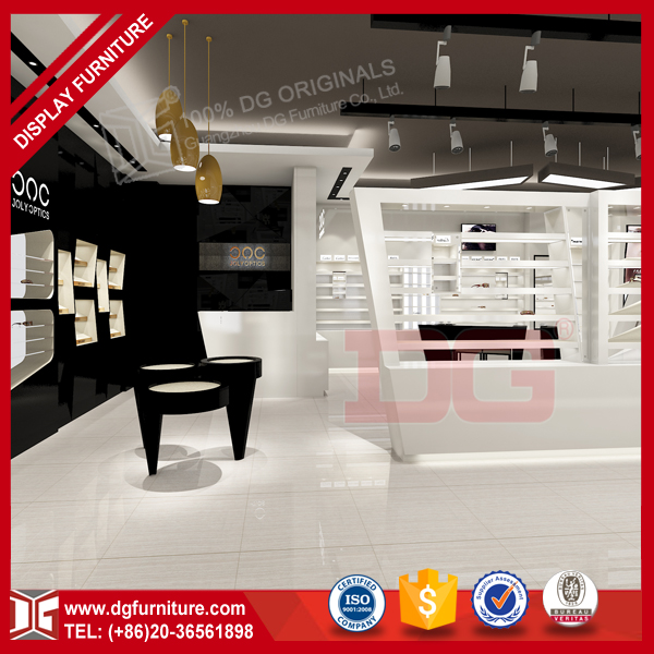 Modern style wholesale rayban oakley sunglass store design for eyeglass display showcase