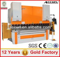 Option DA41 / D52 / DA65 CNC - Control Hydraulic Carbon Steel Press Brake Machine WC67Y-80T/4000