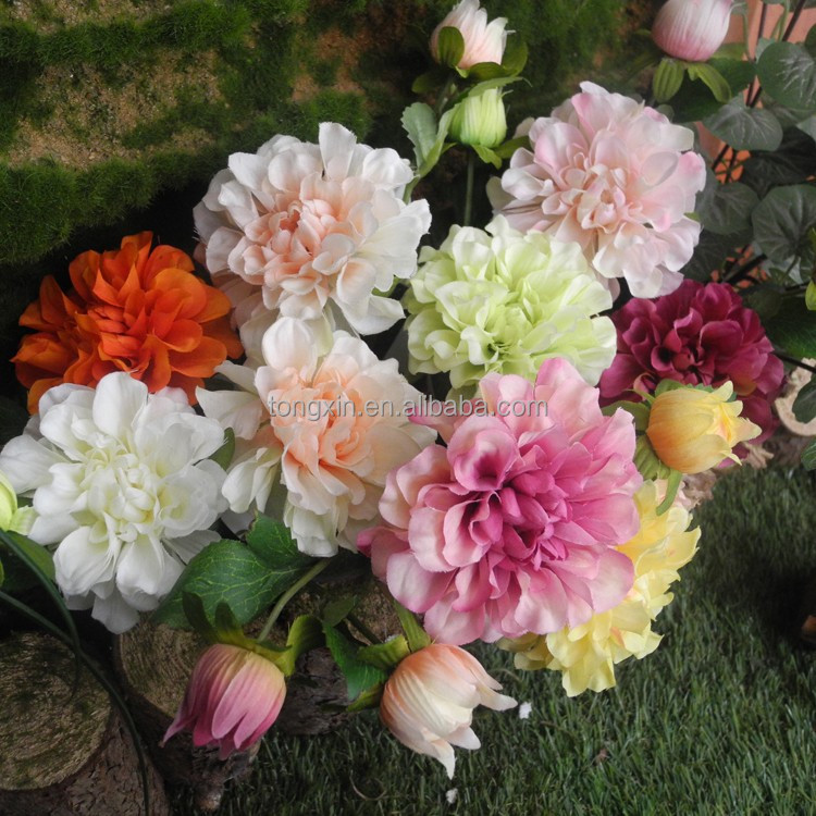 Small artificial flower Zinnia best sell in China for decoration