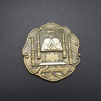 factory high quality custom masonic 3D car emblem
