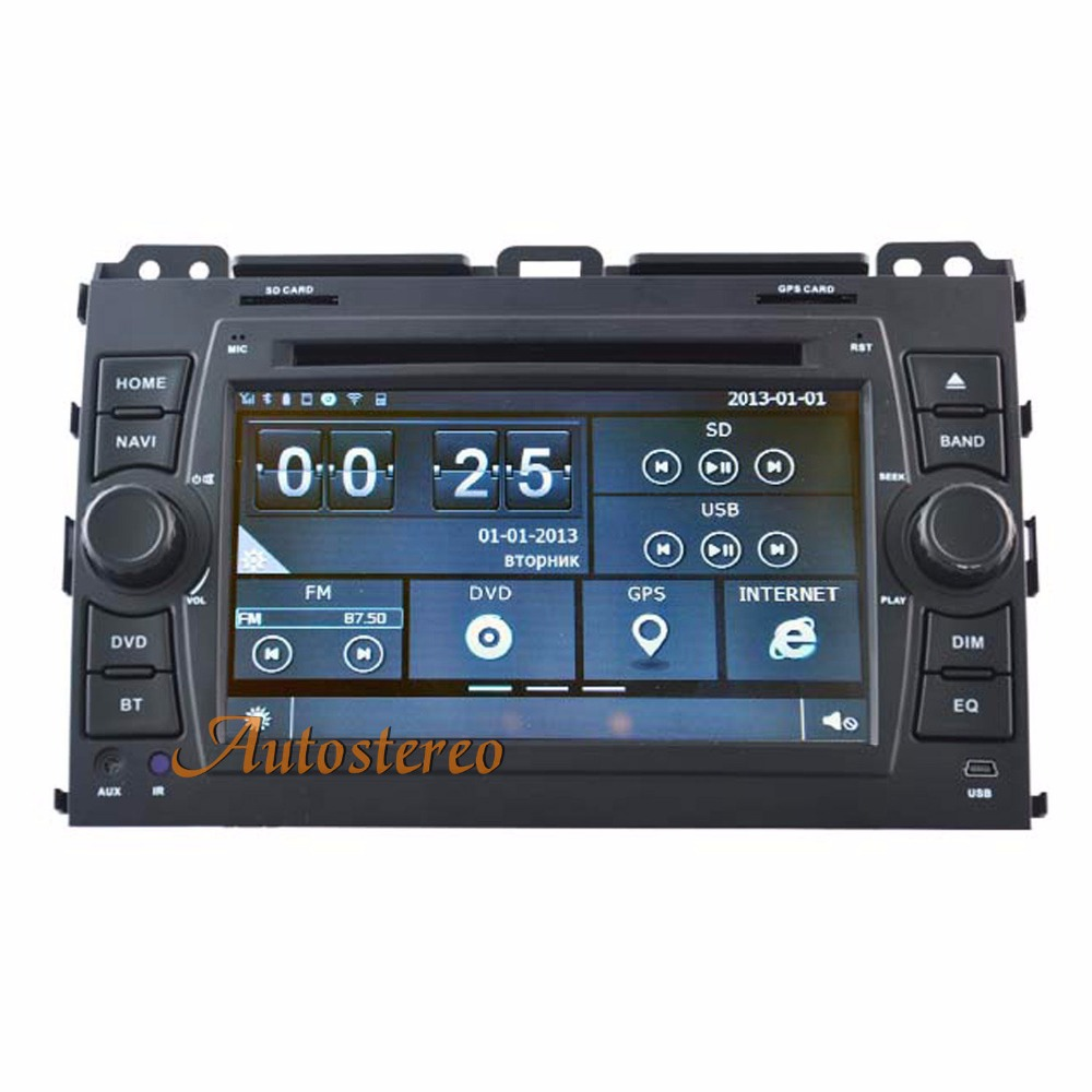 Car Multimedia GPS Navigation System For TOYOTA PRADO PRADO 120 Series 2002-2009 Car GPS car stereo satnav