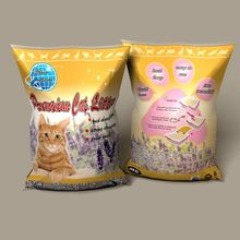 sweet flower smell lavender fresh feeling clean the good clumping cat litter