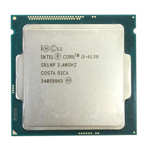Intel core utilizzato desktop processore cpu i3 4130 4150 4130 4160 4340 4170 1150 presa