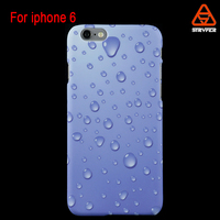 For iphone 6 water transfer printing 3D sublimation mobile phone case for Christmas Guangzhou Biaoxin factory