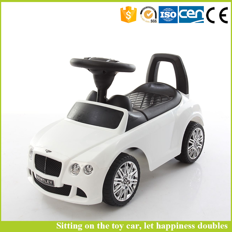 Hot selling child swing car kids plastic car for 4 wheel