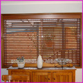 Inside mount, decorative cloth tapes, cord tilt left, lift cords right 2 inch real wood blinds