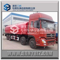 19M3 20M3 20cbm dongfeng water tank truck 8*4 drive 4axles 314hp