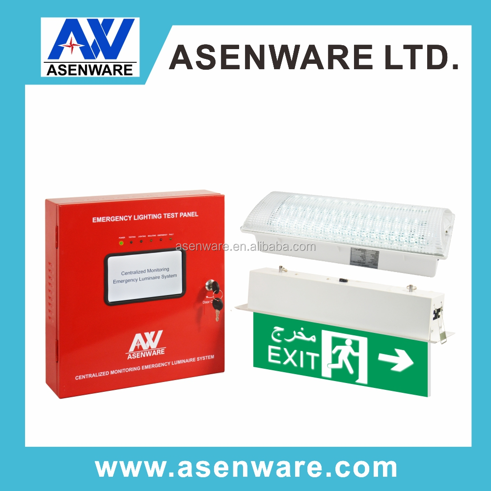 Shopping Mall Evacuation System Remote Emergency Light Fault Monitoring System