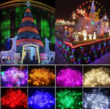 CE ROHS approveded 10m 100leds 8 function led christmas bow tie light christmas village led lights non led christmas lights