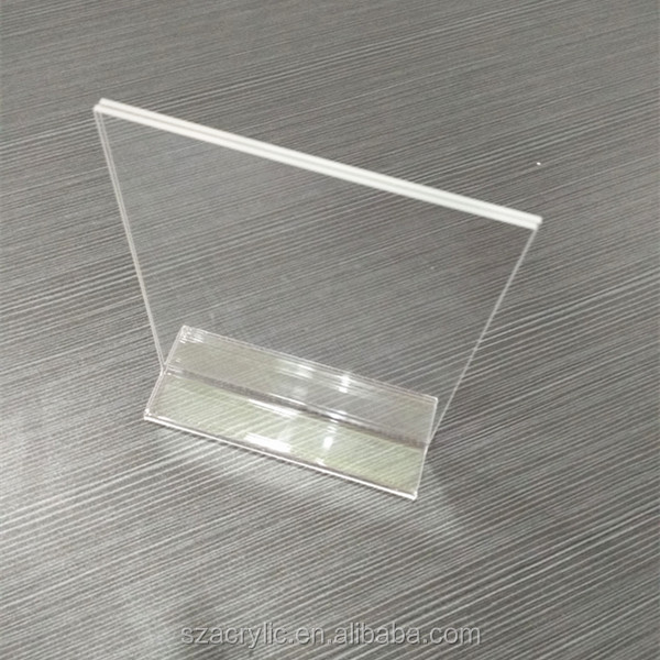 acrylic clear sign holder any size tent card